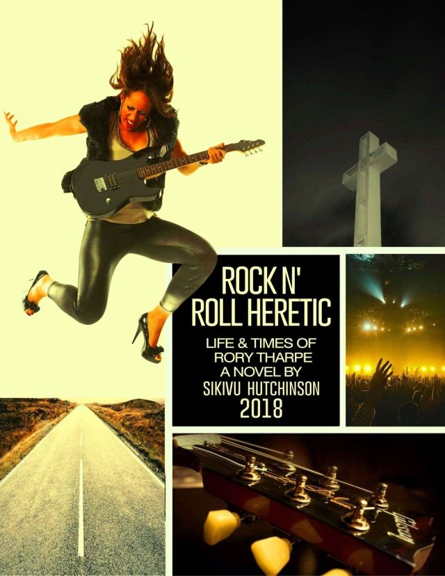book cover Rock Heretic EDITED
